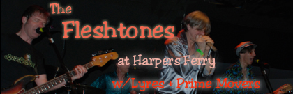 Fleshtones and Lyres and Prime Movers YIKEES