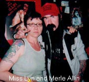 Do you tattoo too? Miss Lyn and Merle.