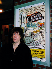 JJ  outside the Regent Theater - 2003
