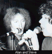 Alan and Steve. Photo by Miss Lyn