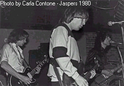 Jonathan Paley ,Alpo and Steve at Jaspers (Somerville)1980