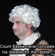 Count Bassie scowls