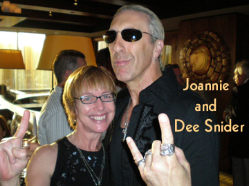 Joanie and Dee Snider