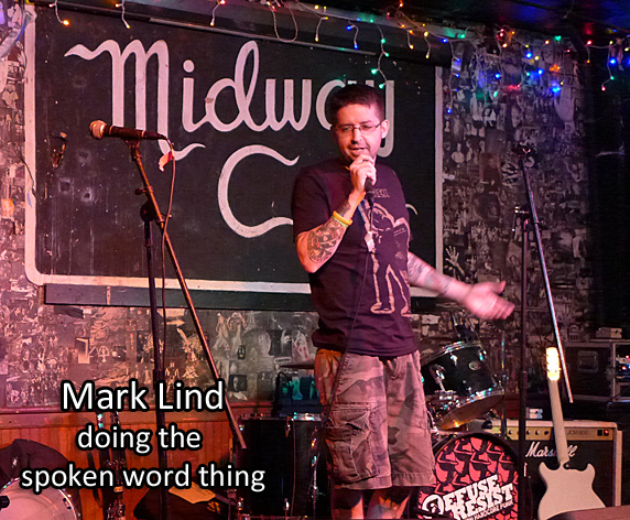 Mark lind at the Midway