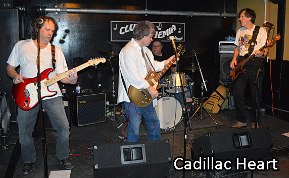 Cadillac Heart at Cantab