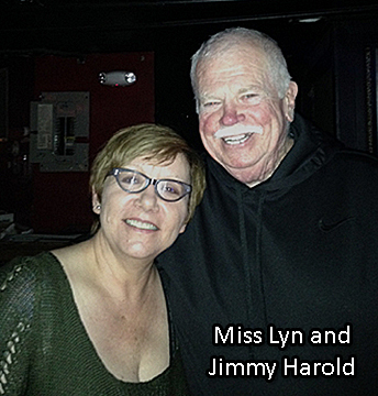 Miss Lyn and Jimmy