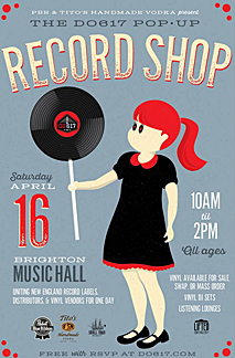 pop up record store